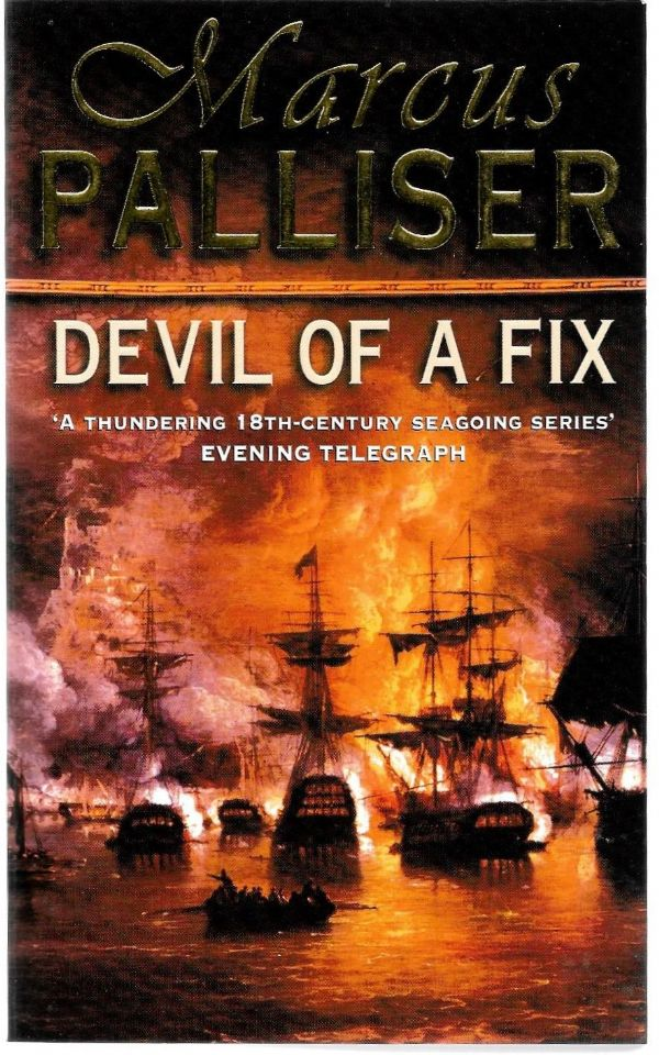 Marcus Palliser - Devil Of A Fix - paperback